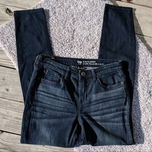 NWT Gap Dark Skinny Jeans, 6/28